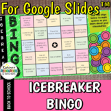 Digital Icebreaker Bingo for Google Slides™ DISTANCE LEARNING