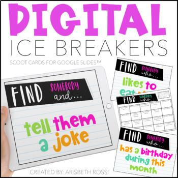 Digital Icebreakers (First Day of School)