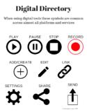 Digital Icon Anchor Chart