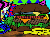 Digital Imaging-Adobe Photoshop-Romero Britto Inspired