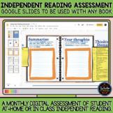 Digital Independent Reading Assessment: Google Slides