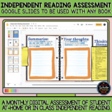Digital Independent Reading Assessment: Google Slides