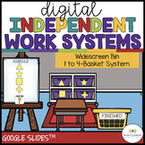Digital Independent Work Systems: Distance Learning for Sp