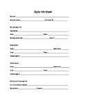 Digital Info Sheet