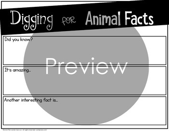 Digital Information Writing: Animal Research Project Templates for Presentations