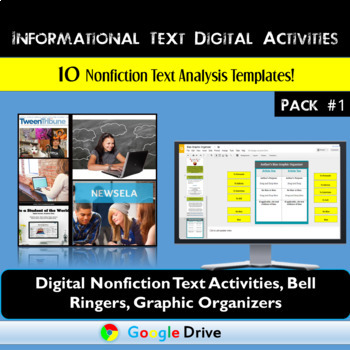 Informational Text Graphic Organizers and Bell Ringers: Pack One - Google Drive