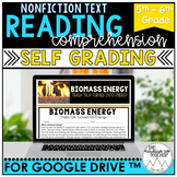 Digital Informational Text for Google Drive™| Biomass Ener
