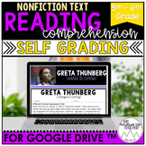Digital Informational Text for Google Drive™| Greta Thunbe