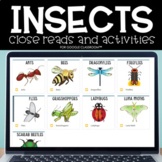 Digital Insects Unit for Google Classroom™/Slides™