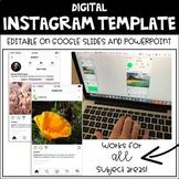 Digital Instagram Template