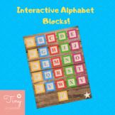 Digital/Interactive Alphabet Blocks for Homeschool/Gogokid