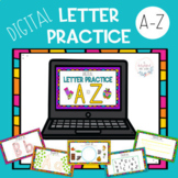 Digital Interactive Alphabet Practice
