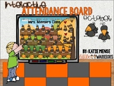 Digital Interactive Attendance Board for October