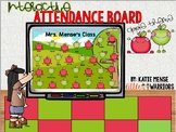 Digital Interactive Attendance Board for September