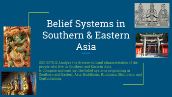 Digital Interactive: Belief Systems in Southern & Eastern Asia  GSE SS7G12