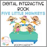 Digital Interactive Book: Five Little Monkeys