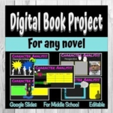 Digital Book Project for Any Novel or Short Story