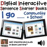 Digital Interactive Books - I Go - Sentencer Starter Books
