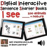 Digital Interactive Books - I See - Sentencer Starter Book