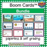 Digital Interactive Boom Cards Bundle Distance Learning