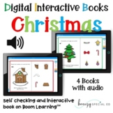 Digital Interactive Christmas Books with Audio on Boom Cards™