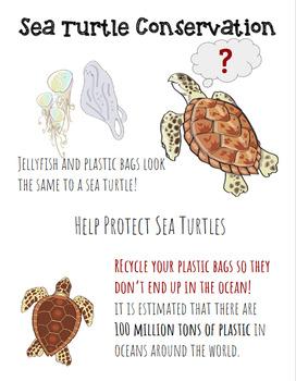 Digital Interactive FREEBIE for Earth Day - Sea Turtle Con