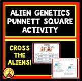 Digital Interactive GENETICS PUNNETT SQUARE Activity MS-LS3-2 Google Slides
