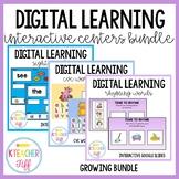 Digital Interactive Google Activities- Distance Learning BUNDLE