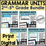Grammar Lessons & Activities | ENTIRE YEAR Elementary Gram