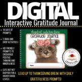 Digital Interactive Gratitude Journal For Fall or Thanksgi