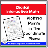 Algebra Digital Interactive Math Plotting Points in the Coordinate Plane