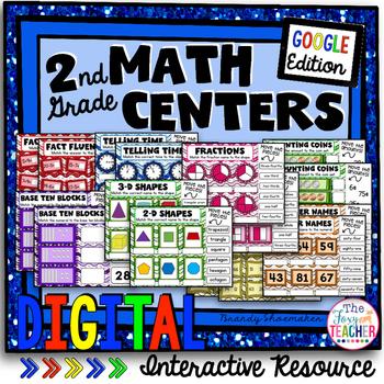 Google Digital Interactive Math Centers