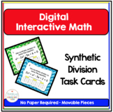 PreCalculus Digital Interactive Math Synthetic Division Ta