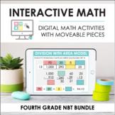 Digital Interactive Math - Fourth Grade NBT Standards Bund