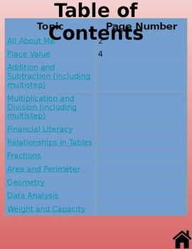 Digital Interactive Math Notebook