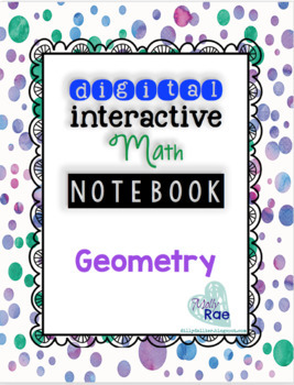 Digital (Google) Interactive Math Notebook- Geometry Shapes