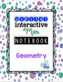 Digital (Google) Interactive Math Notebook- Geometry Shapes