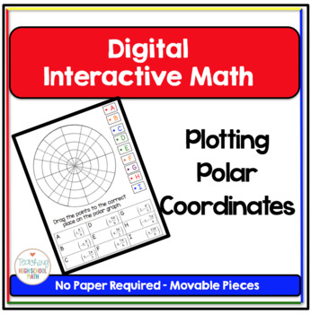 PreCalculus Digital Interactive Math Plotting Points in Polar Coordinates