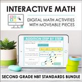 Digital Interactive Math - Second Grade NBT Standards Bund