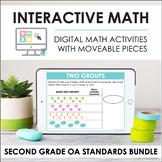 Digital Interactive Math - Second Grade OA Standards Bundl