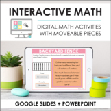 Digital Interactive Math Slides + Self-Grading Quizzes (Fo