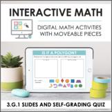 Digital Interactive Math for 3.G.1 - Geometry (Slides + Se