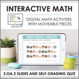 Digital Math for 3.OA.2 - Division Strategies (Slides + Se