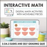 Digital Math for 3.OA.3 - Mult & Div Word Problems (Slides