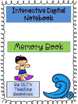 End of Year Interactive Digital Memory Book