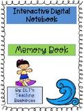 End of Year Interactive Digital Memory Book