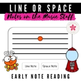 Name the Note | Digital Music Game for Identifying Line an