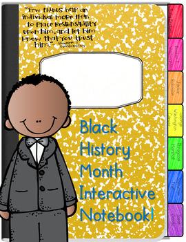 Black History Month Digital Interactive Notebook
