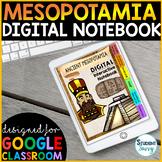 Digital Interactive Notebook   Ancient Mesopotamia Google Classroom