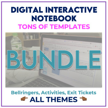 Digital Interactive Notebook BUNDLE